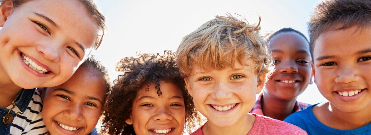 Children representing cystic fibrosis